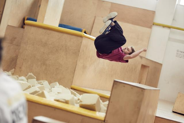Parkour workshop In Motion Academy