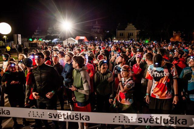 Noční běh pro Světlušku v Praze
